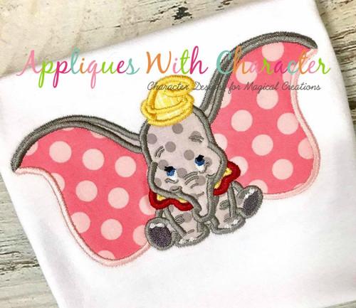 Dumbo Applique Design