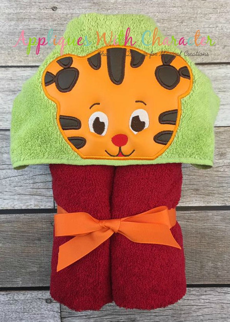 Danny Tiger Peeker Applique Design