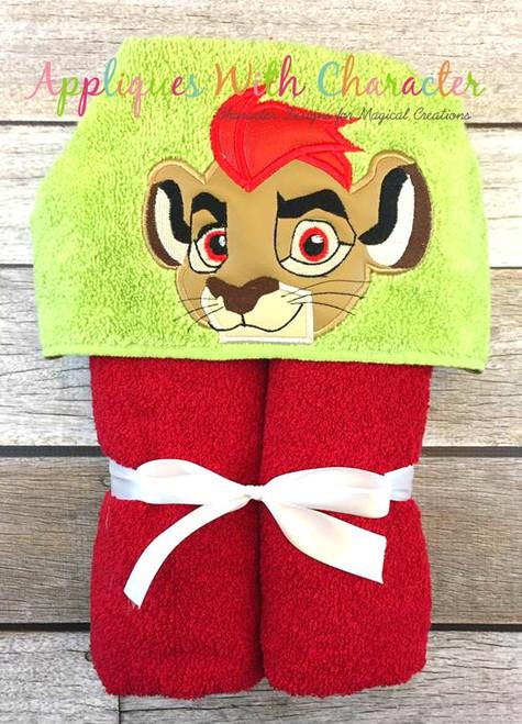 Lion Guard Peeker Applique Design