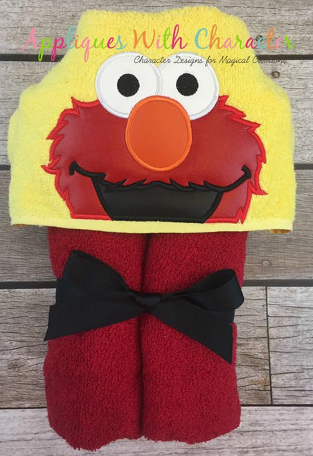 Elmo Peeker Applique Design