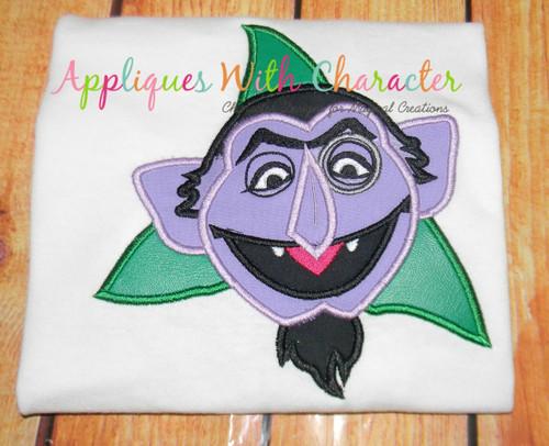 The Count Applique Design