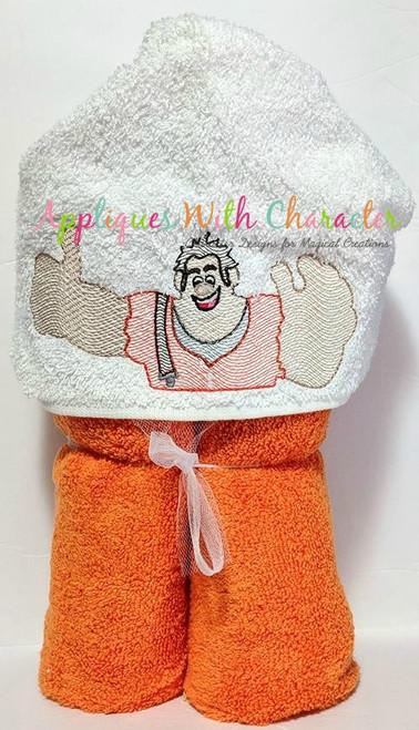 Wrecker Ralph Bean Bust Bean Stitch Design