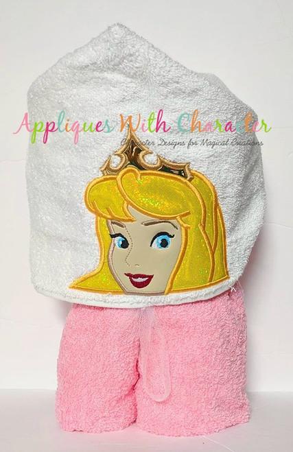 Sleeping Beauty Peeker Applique Design