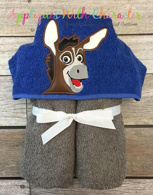 Bo the Donkey Peeker Applique Design