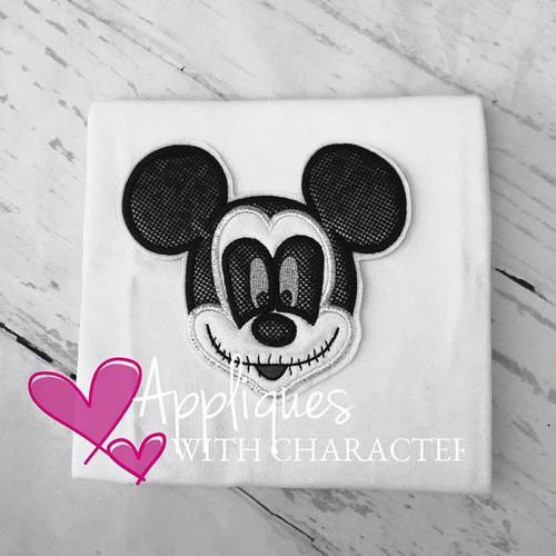 Mr Mouse Halloween Applique Design