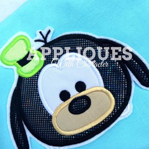 Goofie Tsum Tsum  Applique Design