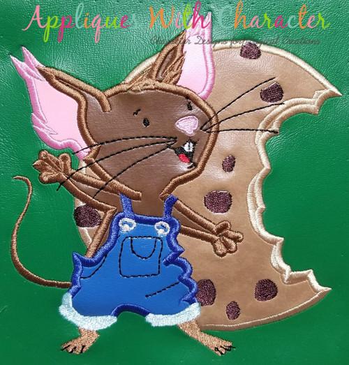 Give a Mouse a Cookie Applique Design