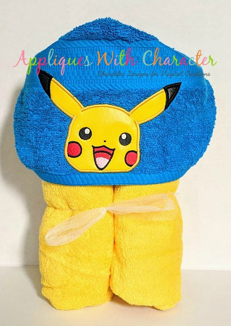 Pikachu Peeker Applique Design