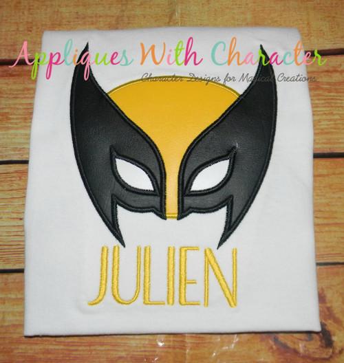Wolverine Peeker Applique Design