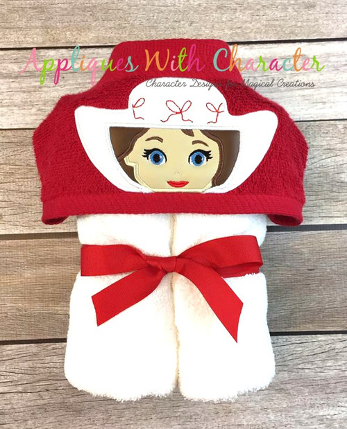 Mary Poppers Peeker Applique Design