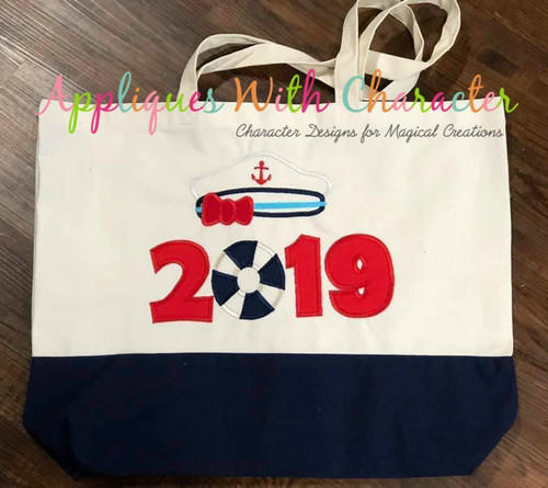 2019 Cruise Applique Design