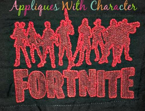Fortnight Soldiers Bean Stitch Design