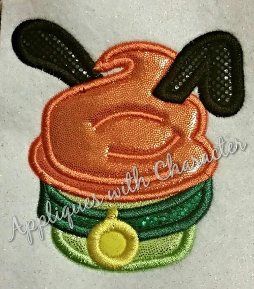 Plooto Cupcake Applique Design