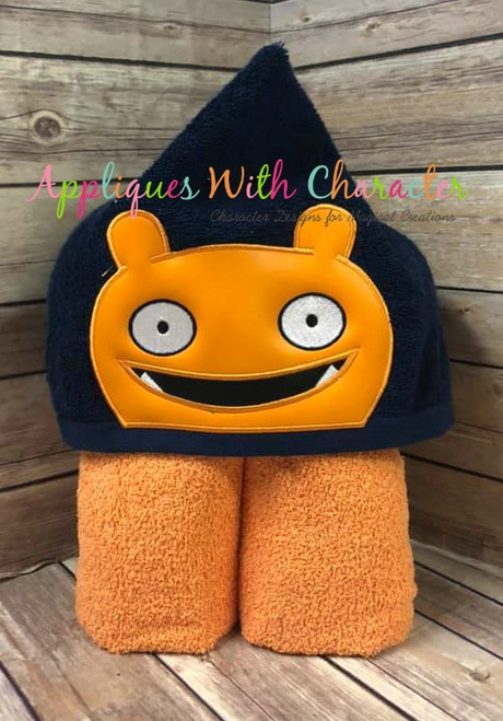Ugly Doll Wage Peeker Applique Design