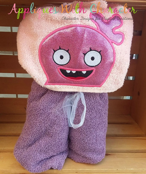 Ugly Doll Moxy Peeker Applique Design
