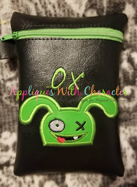 Ugly Doll Ox Peeker Applique Design