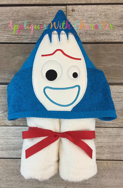 Toy Story Forky Peeker Applique Design