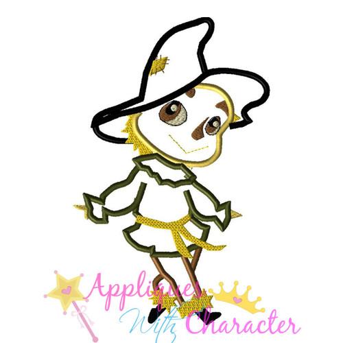 Wizard of Ozz Scarecrow Applique Design