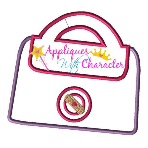 Doc Mcstuffons Bag  Applique Design