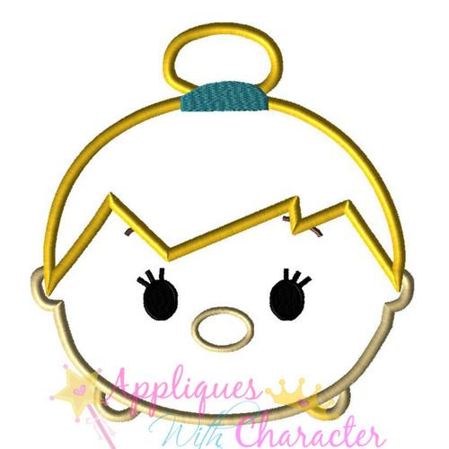 Tinkerbelle Tsum Tsum Applique Design