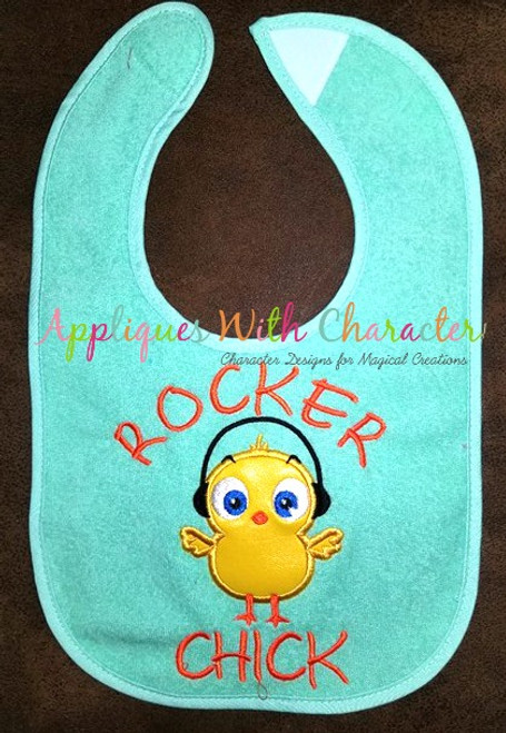 Rock Chick  Applique Design