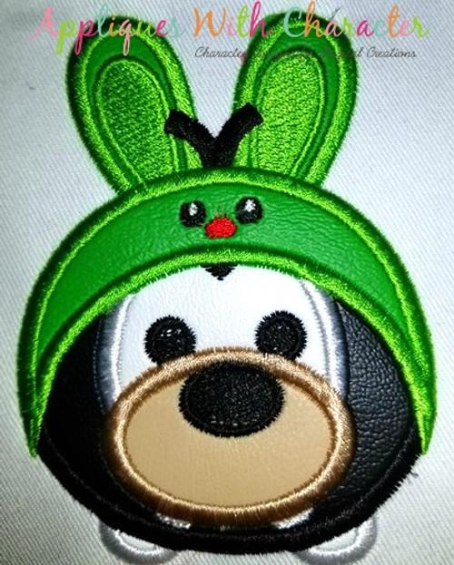 Goofie Easter Bunny Tsum Tsum Applique Design