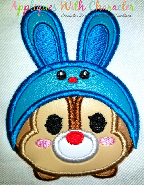 Dale Easter Bunny Tsum Tsum Applique Design