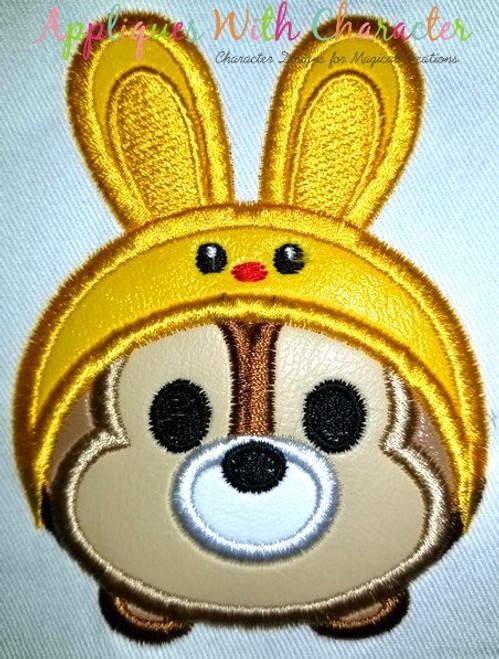 Chip Easter Bunny Tsum Tsum Applique Design