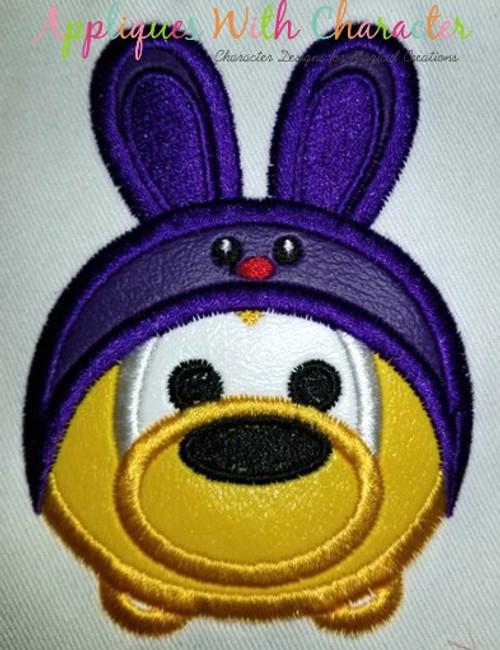 Plooto Easter Bunny Tsum Tsum Applique Design