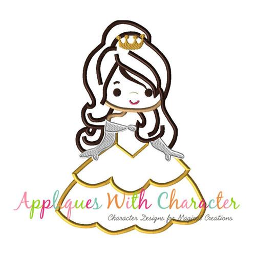 Beauty Bella Cutie Applique Design