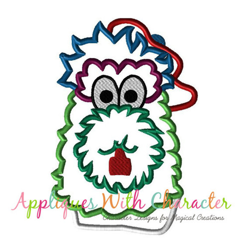 Baseball Inspired Phillies Fanatic Applique Design