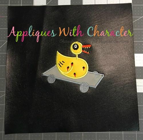 Nightmare Before Christmas Duck Applique Design