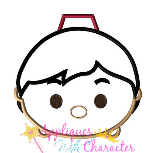 Aladdine Tsum Tsum Applique Design
