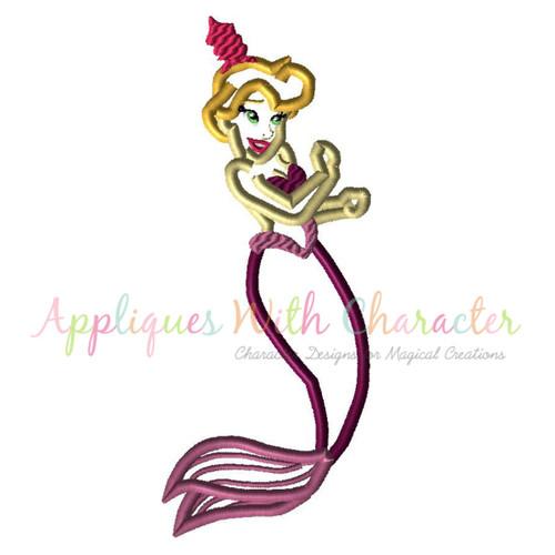 Mermaid Sister 4 Applique Design
