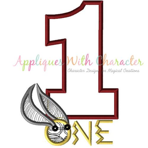 Harry One Applique Design