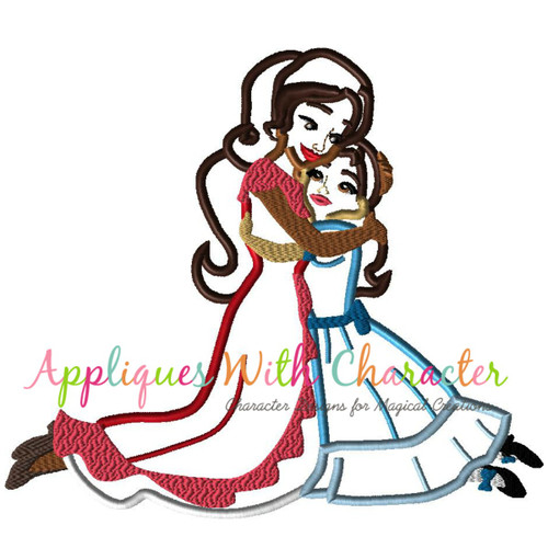 Eleena Sister Applique Design