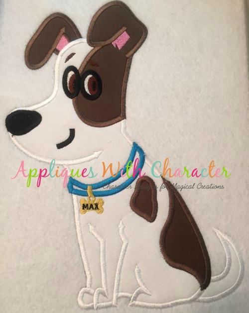 Pets Maxim Applique Design