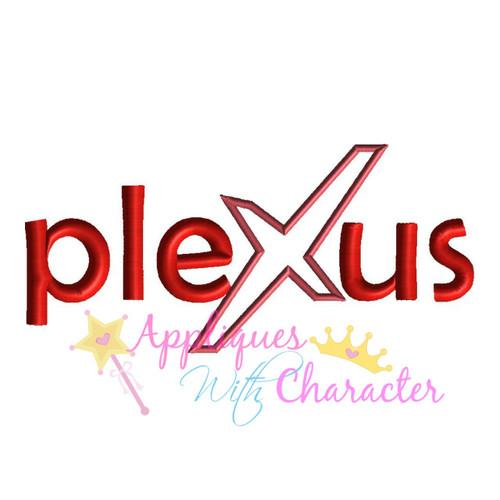 Willie Wonky Plexus Logo Applique Design