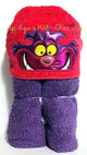 Alyce Cheshire Cat Peeker Applique Design