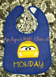 Cars Cruizin Race Car Peeker Applique Design