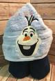 Frozen Olaf Snowman Peeker Applique Design