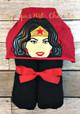Wonder Woman Peeker Applique Design