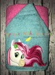 Princess Knight Unicorn Peeker Applique Design