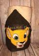 Lion Royalty Nala Peeker Applique Design