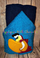 Aladdine Parrot Peeker Applique Design