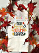 Fall Leaves Autumn Breeze Filled Stitch Embroidery Design