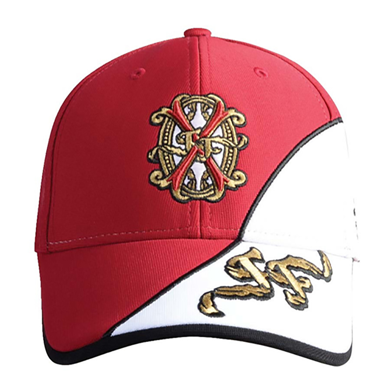 2eb20463d2f Arturo Fuente Opus X Baseball Hat - White and Red  11675.1529821399.jpg c 2 imbypass on