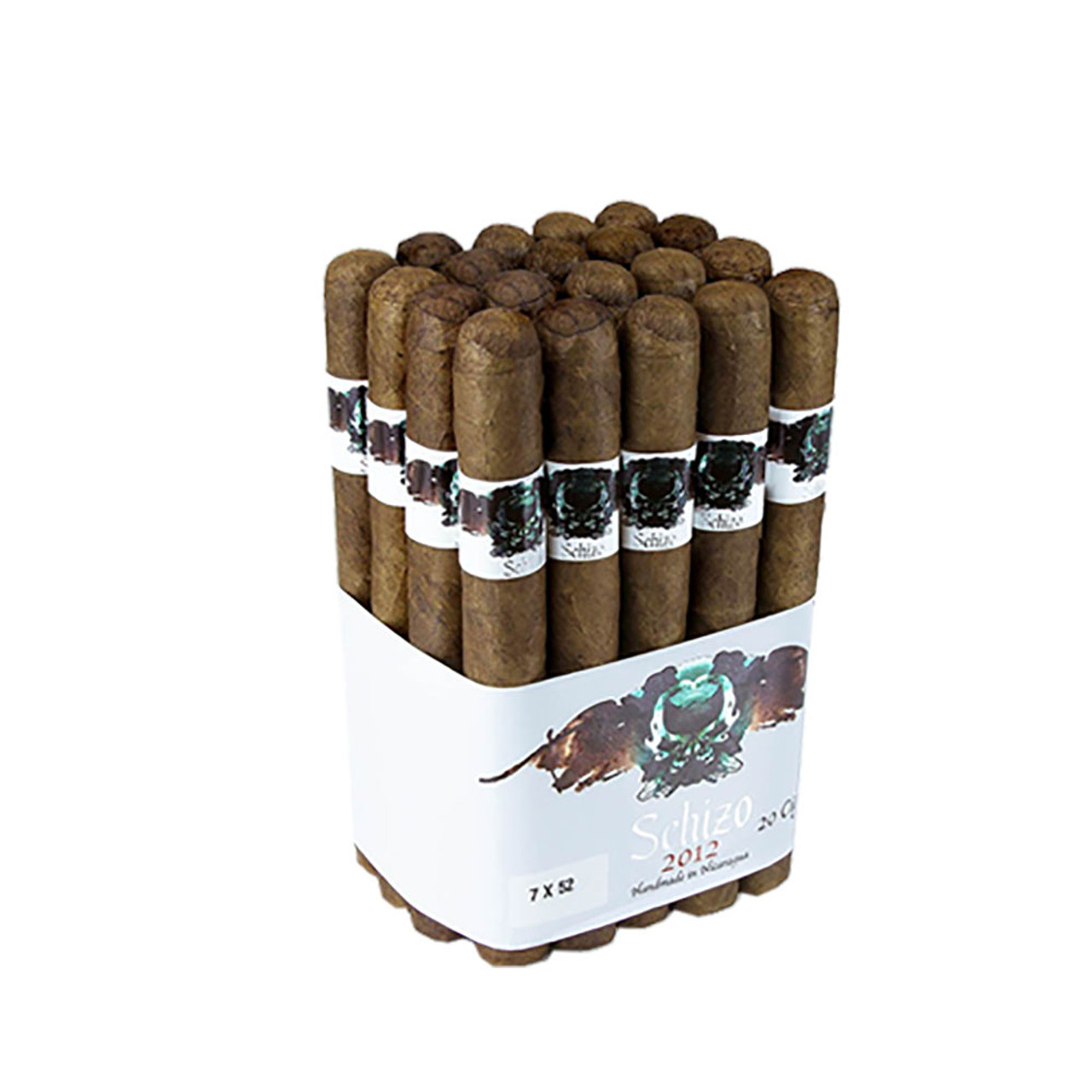 Asylum Schizo Churchill Cigars - Natural Bundle of 20