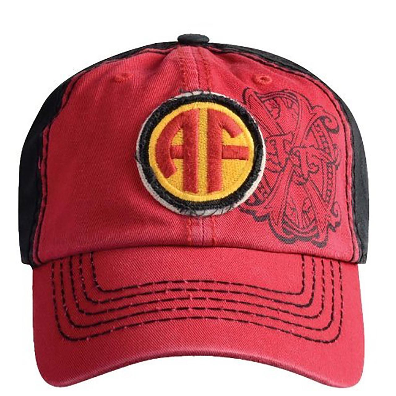 e6ba4898728 Arturo Fuente AF Opus X Logo Baseball Hat - Red and Black  20763.1529821336.jpg c 2 imbypass on