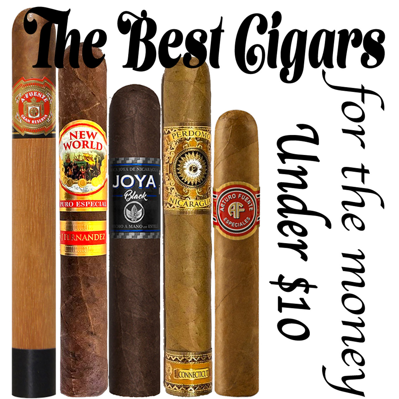 5 of The Best Cigars for the Money under $10